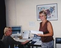 Christiane Delvigne et Jacqueline Spineux