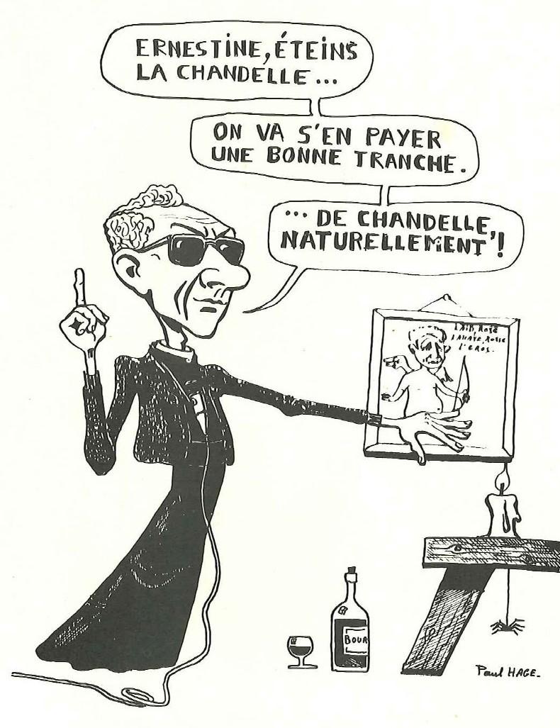 Caricature du Père Maon