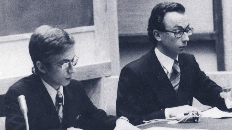 Christian Panier et Jacques Regnier