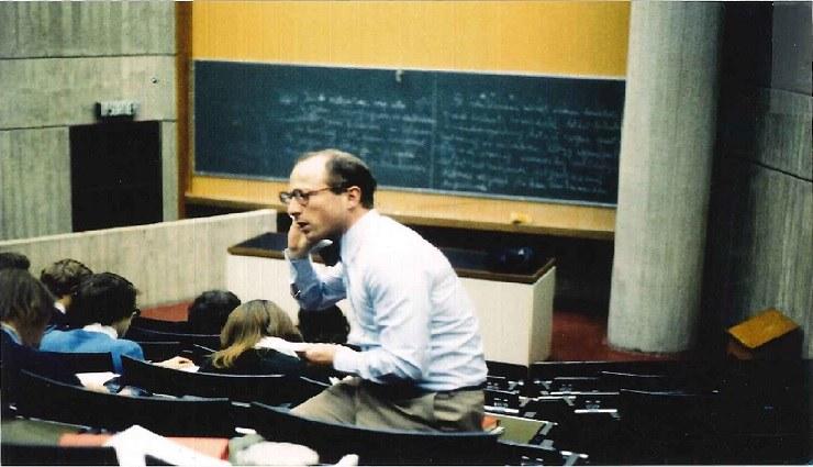Le professeur Jean du Jardin