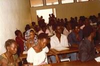 Des étudiants de l'Ecole Supérieure de Droit de Ouagadougou