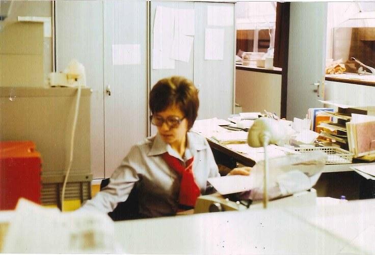 Jacqueline Spineux, une secrétaire soucieuse du confort des étudiants